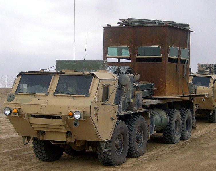 HEMTT truck