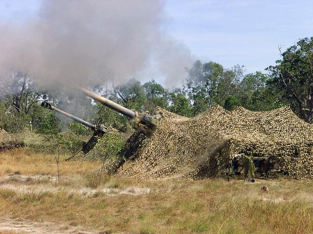 M198 Howitzers
