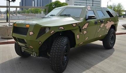 TARDEC's hybrid Humvee, Fuel Efficient Demonstrator Bravo