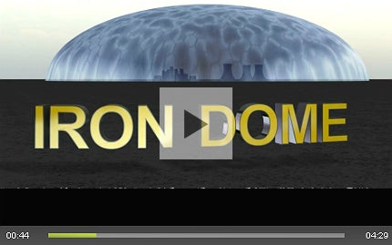 Iron Dome missile shield