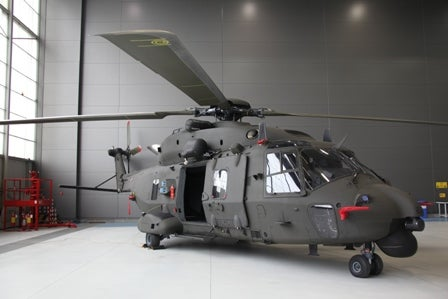 NH90 helicopter