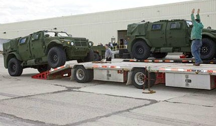 US Army and Marine Corps receive JLTV vehicles and four trailers in all payload categories
