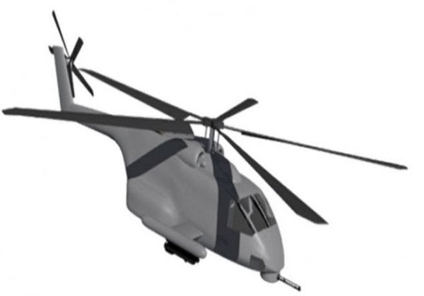 JMR MD helicopter