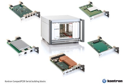 Kontron's Systems Launches Pre-Integrated CompactPCI Serial Building Blocks