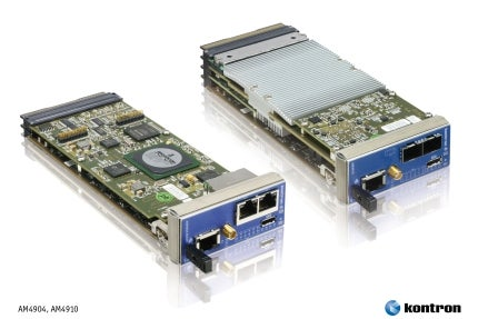 Kontron AM4904/AM4910 MCHs Enhanced with Rear I/O Support and Precision Timing for Physical Research and High-Speed Data Acquisition Applications