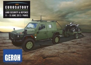 Eurosatory trailer