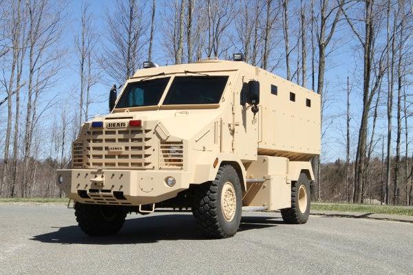 Lenco Bear vehicle