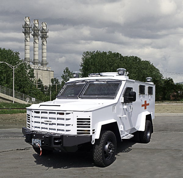 BearCat MedEvac vehicle