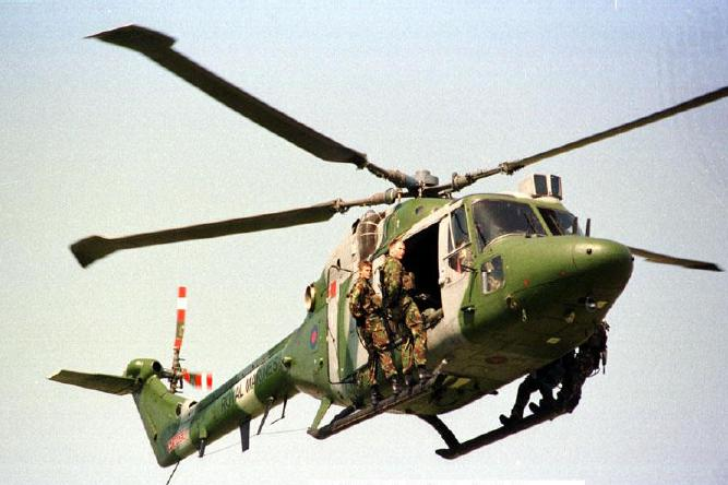 Mk7 Lynx helicopter