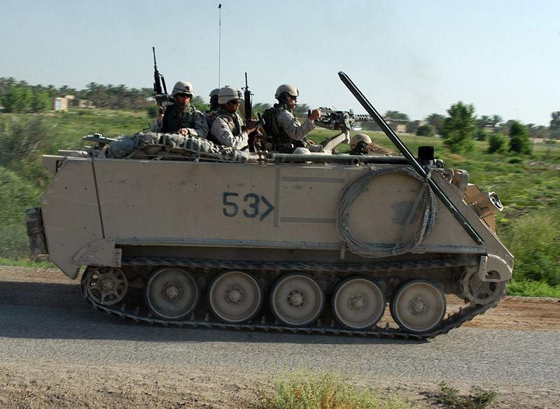 US Army's M113 APC