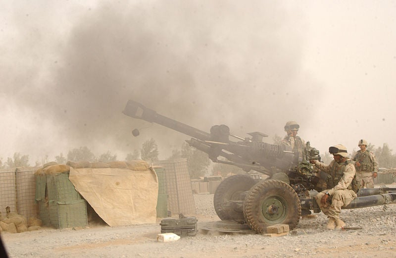 M119 Howitzer of US Army
