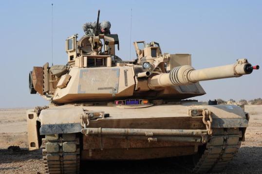 M1A2 Abrams tank
