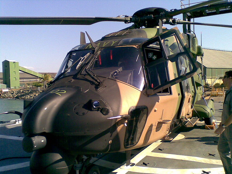 MRH90 helicopter