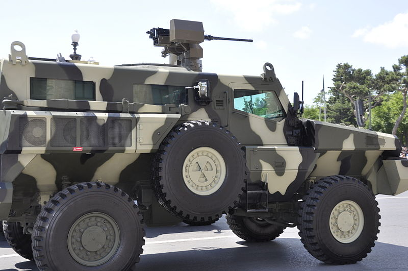 Marauder vehicle