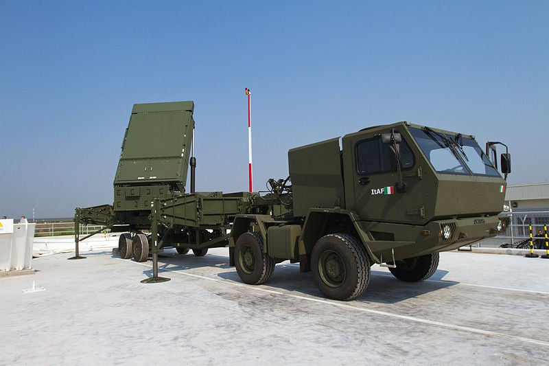 MEADS radar