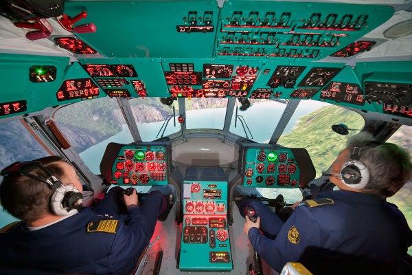 Mi-17 helicopter simulator