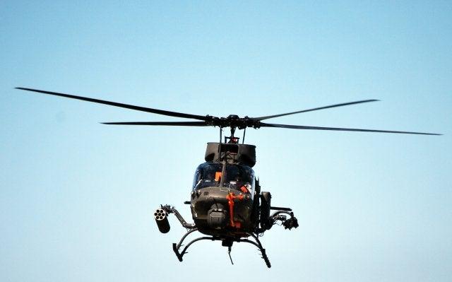 OH-58F Kiowa Warrior