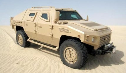 NIMR Armoured Vehicles for the UAE