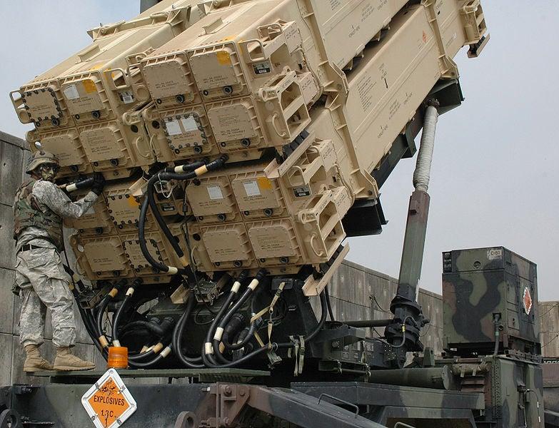PAC-3 launcher