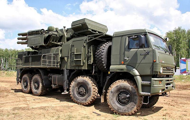 Pantsyr missile