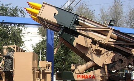 Each Pinaka rocket is capable of carrying a 100kg payload