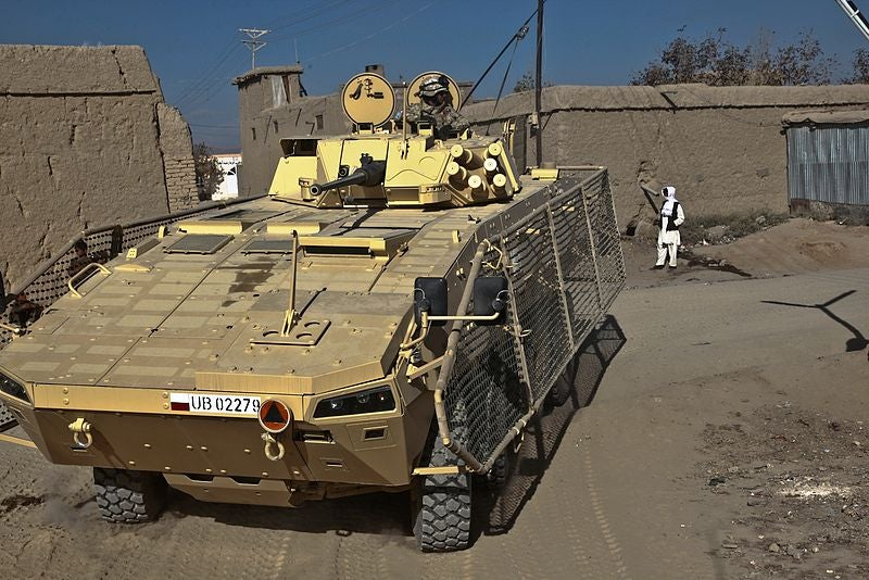 Rosomak vehicle