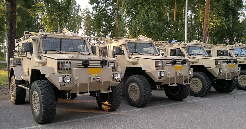 RG-32M armoured vehicles
