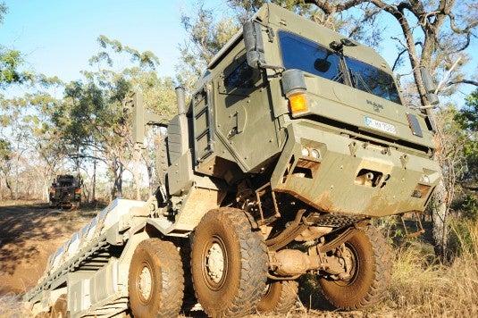 RMMVA military vehicle