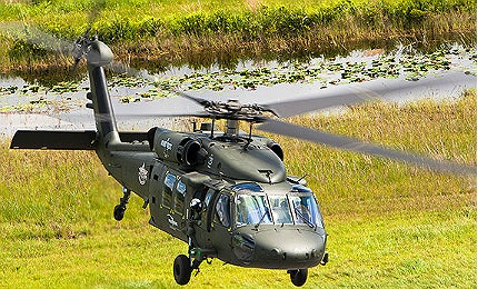S-70i Black Hawk helicopter