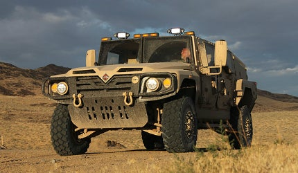 The standard Saratoga design has been modified to meet the specific requirements of the JLTV programme