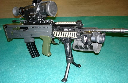 Australian company Kord Defence believes it has come up with a solution. Its SmartGrip Rifle Input Control (RIC)