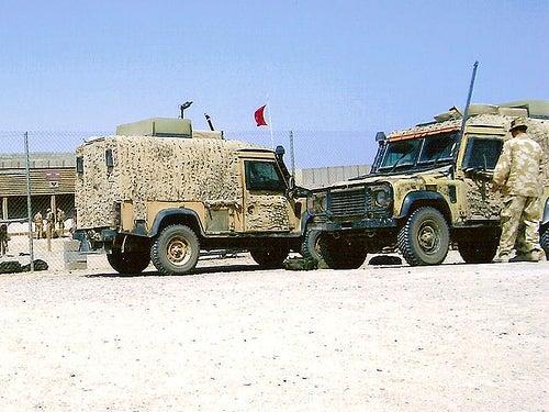 British Army's Snatch 2 Land Rover