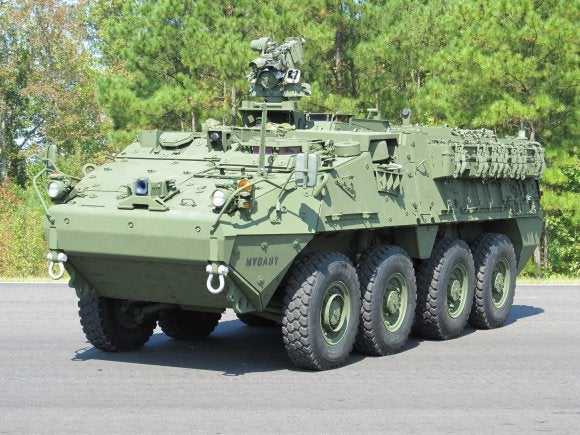 DVH configuration Stryker vehicle