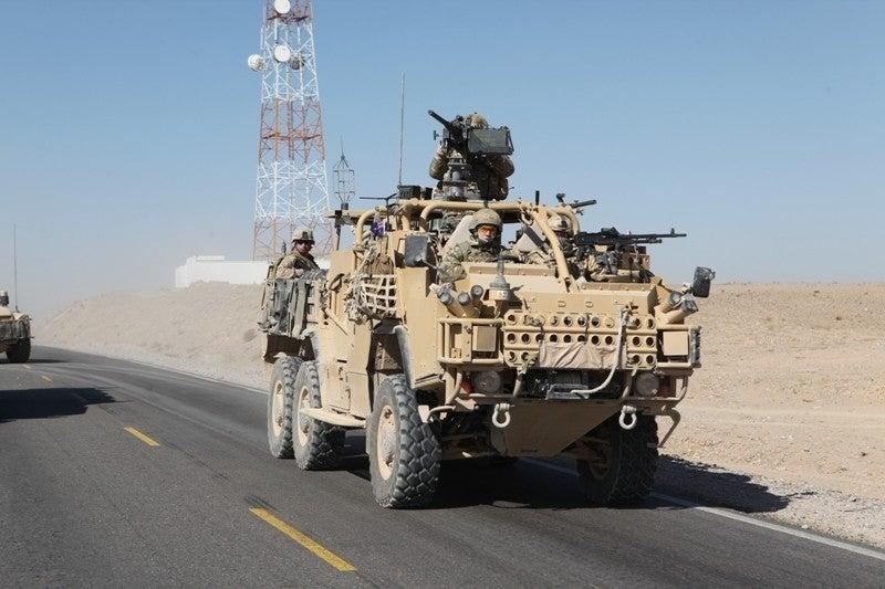 Special Forces HMT Extenda vehicle