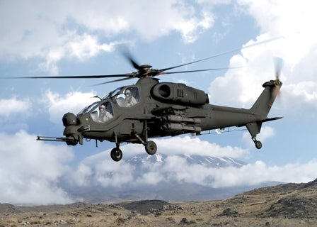 T-129 helicopter