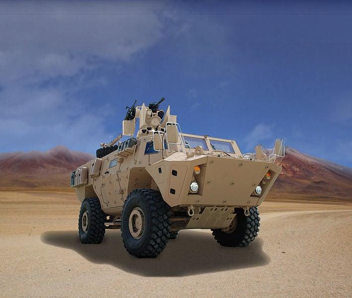 TAPV vehicle
