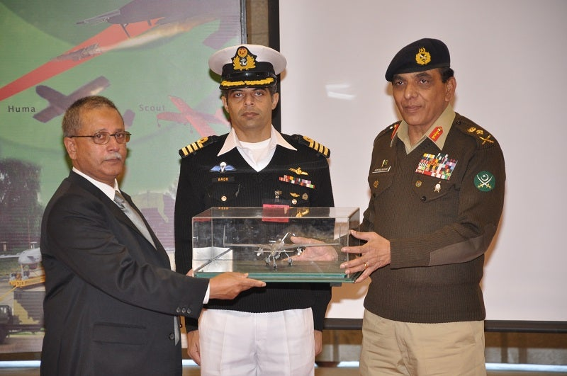UAVs  formally inducted in Pakistan Armed Forces