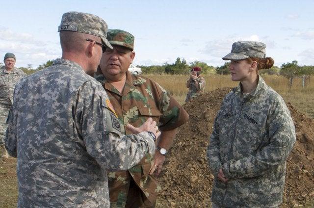 US-SANDF soldiers