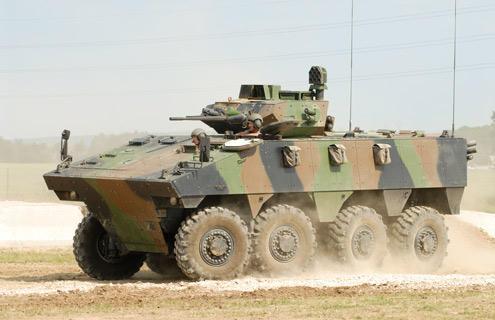 VBCI vehicle