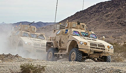 BAE Systems' Valanx vehicle
