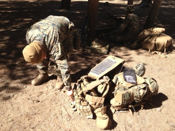 Wearable solar cells for soldiers: Running out of energy?