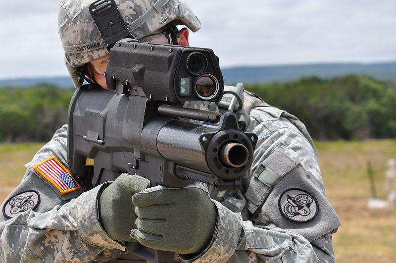 XM-25 rifle