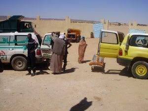 Algerian Ambulance Service in Tinalkom