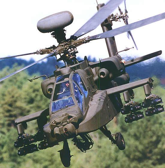 Apache Block III Longbow helicopter.