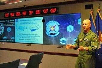 Army virtual training session under way