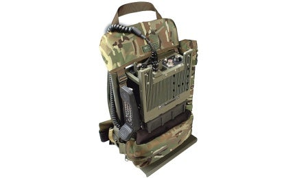 PRC-2081+25W Tactical VHF Manpack - Army Technology