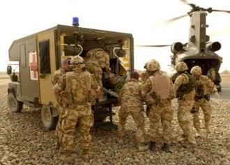 mashall military ambulance