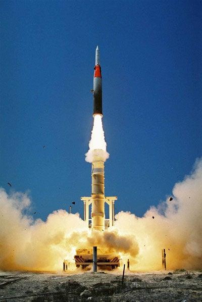 Arrow 2 missile