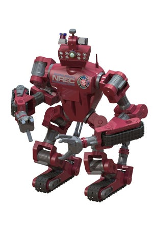 CHAMP robot
