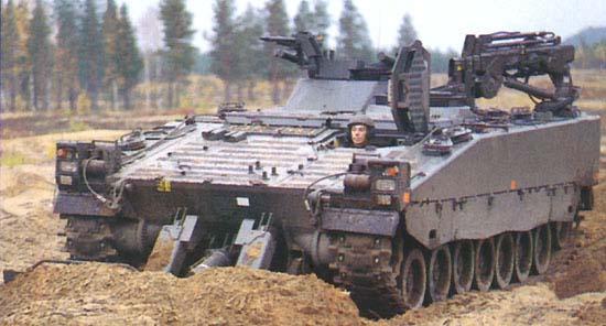 CV90 vehicle